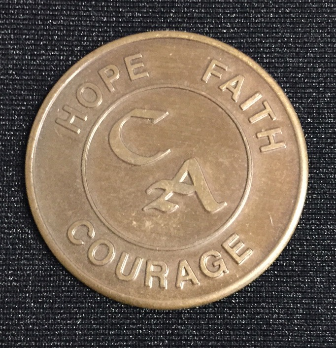 CA Sobriety Coin